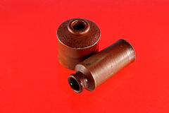 Pozzi d'annata dell'inchiostro dell'argilla Immagine Stock Libera da Diritti