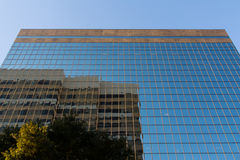 Pozzi Fargo Glass Modern Business Office che costruisce Colombia Fotografia Stock
