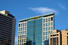 Pozzi Fargo Offices Salt Lake City, Utah immagine stock