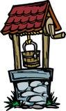 Pozzo d'acqua illustrazione di stock