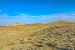 Pozzo 03 del cratere del gas di Darvaza fotografie stock libere da diritti