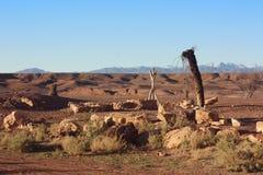 Pozzo del deserto Immagini Stock Libere da Diritti