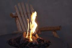 Pozzo del fuoco Fotografia Stock