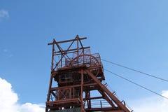 Pozzo della miniera di carbone Fotografie Stock