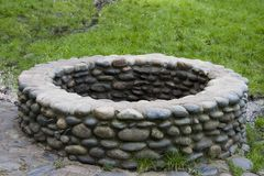 Pozzo della pietra Immagini Stock
