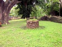 Pozzo della pietra di Rune I f Fotografie Stock Libere da Diritti