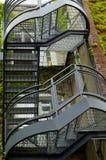 Pozzo delle scale Fotografie Stock Libere da Diritti