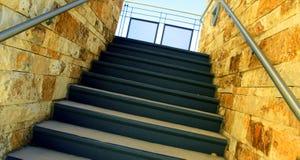 Pozzo delle scale Immagini Stock Libere da Diritti