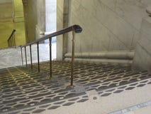 Pozzo delle scale, biblioteca di New York Immagini Stock Libere da Diritti