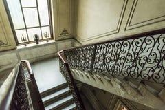 Pozzo delle scale in casa Alonso Havana Fotografia Stock Libera da Diritti