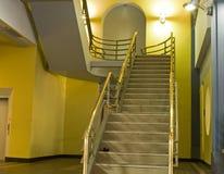 Pozzo delle scale interno Immagini Stock