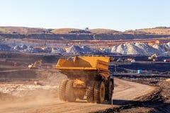 Pozzo di estrazione mineraria Open Immagini Stock
