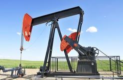 Pozzo di gas Fotografia Stock Libera da Diritti