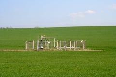 Pozzo di gas (panorama) Fotografie Stock