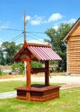 Pozzo di legno fotografia stock libera da diritti