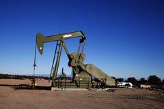 Pozzo di petrolio Immagini Stock