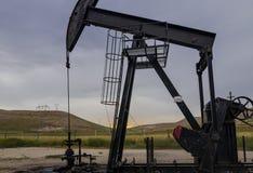 Pozzo di petrolio, la Turchia Fotografia Stock