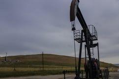 Pozzo di petrolio, la Turchia Immagini Stock Libere da Diritti