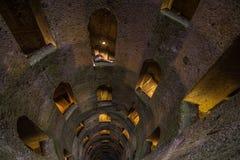 Pozzo di San Patriazio, a historic well in Orvieto, Umbria Stock Images
