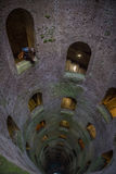 Pozzo di San Patriazio, a historic well in Orvieto, Umbria Stock Images