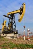 Pozzo petrolifero Fotografia Stock Libera da Diritti
