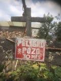 pozzo profondo 30meter vicino a Cuernavaca Messico Fotografia Stock Libera da Diritti