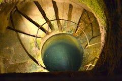 Pozzo sotterraneo Immagini Stock