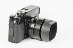 Pozzo usato, retro stile, macchina fotografica del viewfinder Fotografia Stock