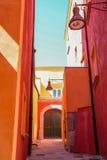 Pozzuoli, centro histórico Imagen de archivo libre de regalías