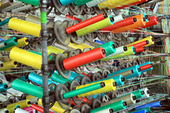 Pp bobbins Royalty Free Stock Photo