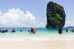 Pp-eiland in Thailand Royalty-vrije Stock Afbeelding