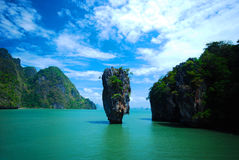 Pp island, the popular beach in Thailand Royalty Free Stock Photography