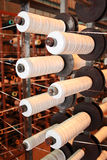 PP tape bobbins Royalty Free Stock Image