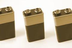 Pp3 batterijen Royalty-vrije Stock Foto