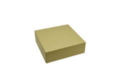 Ppaper箱子或在白色背景隔绝的纸板箱 图库摄影