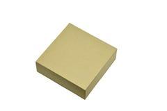 Ppaper箱子或在白色背景隔绝的纸板箱 库存照片