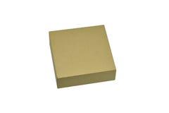 Ppaper箱子或在白色背景隔绝的纸板箱 库存图片
