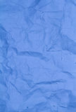 Ppaper texture background blue  color. Crumbled Stock Image