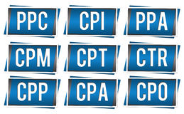 PPC Elements Royalty Free Stock Photography