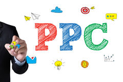 PPC    Pay-Per-Click Royalty Free Stock Photography