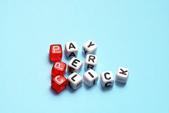 PPC Pay Per Click dices Royalty Free Stock Photo
