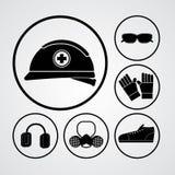 PPE illustration stock