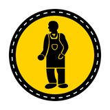 PPE Icon.Wear Protective Clothing Symbol Isolate On White Background,Vector Illustration stock illustration