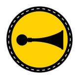 PPE ikona Rozsądny rogu symbolu znak Odizolowywa Na Białym tle, Wektorowa ilustracja ilustracji