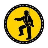 PPE ikona Zbawcza nicielnica Musi Być Przetartymi symbolami Wektorowa ilustracja, znak Odizolowywa Na Białym tle ilustracja wektor