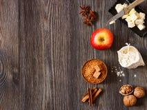 Äppelpaj. Arkivfoton