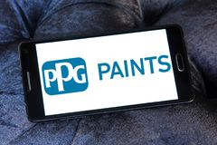 PPG Industries company logo Stock Photography