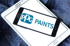 PPG Industries company logo Stock Image