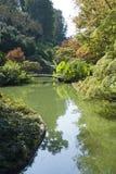 Üppiger Garten Stockfoto
