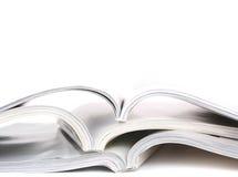 öppnade böcker Royaltyfri Bild